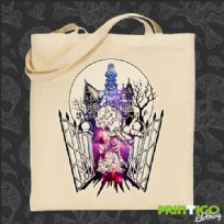 Horror House tote bag
